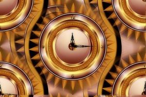clock-golden